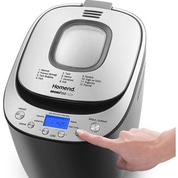 Homend 1503 Breadfast Ekmek Yapma Makinesi