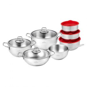 Karaca Pişir Sakla 13 Parça Çelik Tencere Seti