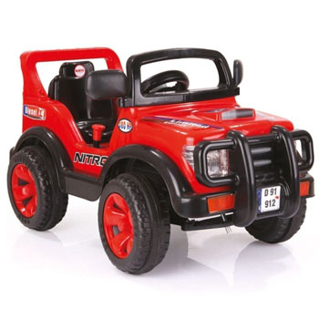 Dolu Nitro Jeep 6V Akülü Araba