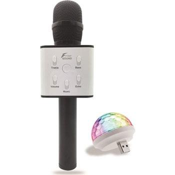 Freesound FS22 Gold Karaoke Mikrofon