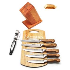 LAZBİSA Lazoğlu Sürmene Mutfak Bıçak Seti